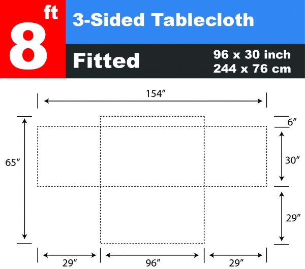 Wholesale 8 ft Tab...
