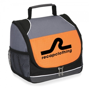 Wholesale Reflective Lunch Bag with Side Pocket