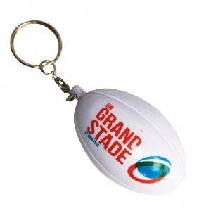 Wholesale Rugby Stress Ball Keychain