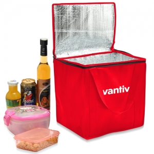 Wholesale Non-Woven Foil-Lined Lunch Bag