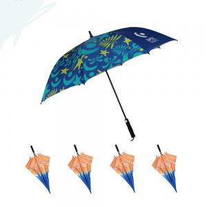 Uv Golf Colorful Umbrella Advertising Design Promotion 2019 New Umbrella