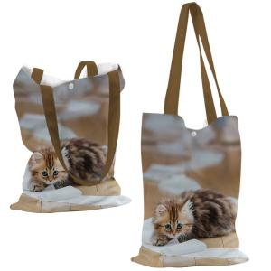 Special custom made easy matching summer tote bag with images