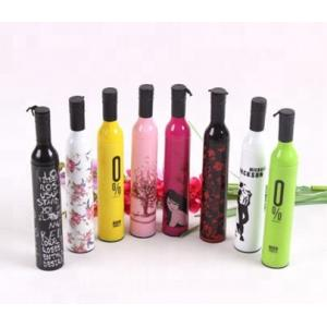 Promotional Colourful Outdoor Cheap Wine Bottle Umbrella with Custom Logo